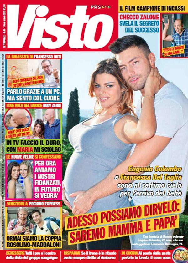 Francesca Del Taglia incinta