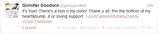 Ginnifer Goodwin tweet