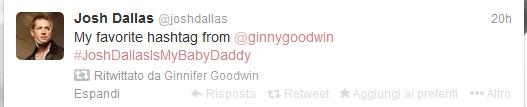 Josh Dallas tweet