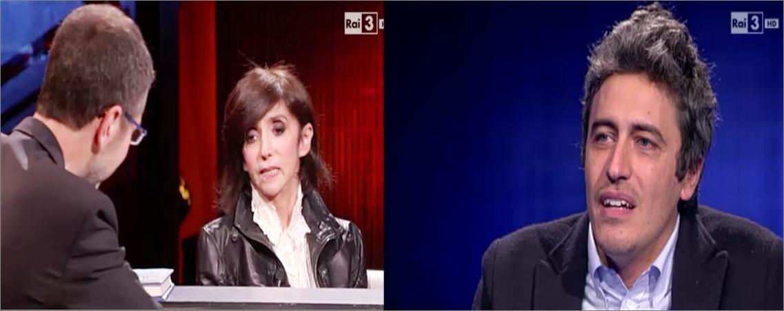 Che tempo che fa 'educational': Anna Marchesini ride, Pif si commuove per la mafia