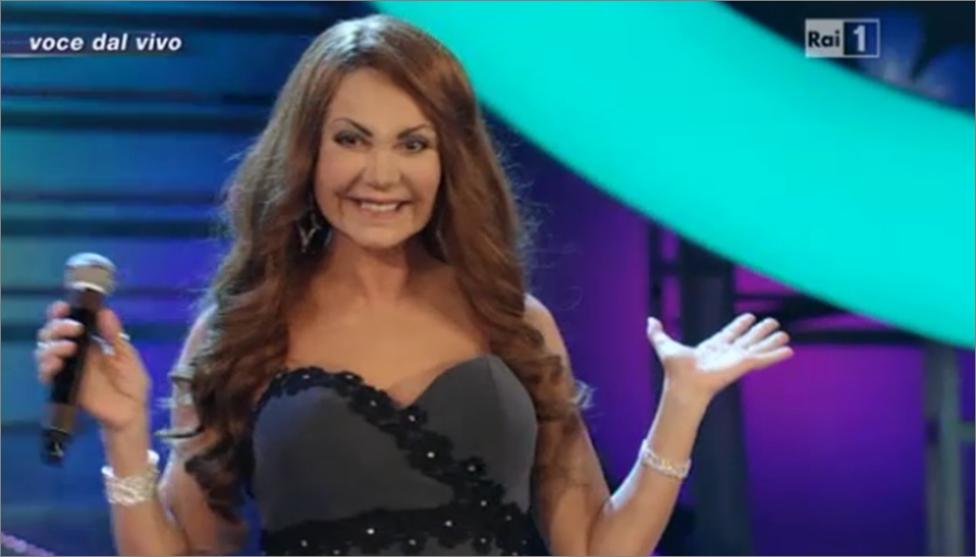 Marina Fiordaliso è Cristina D'Avena