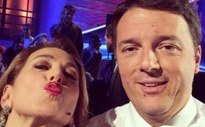 Barbara D'Urso ospita Matteo Renzi a Domenica Live, Enrico Mentana: 'Alza ascolti'