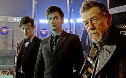 The Day of the Doctor su Rai 4: il doodle di Google per il Dottore [FOTO+VIDEO]