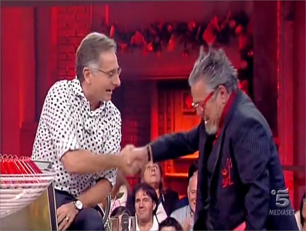 Bonolis e Massimo della Pena