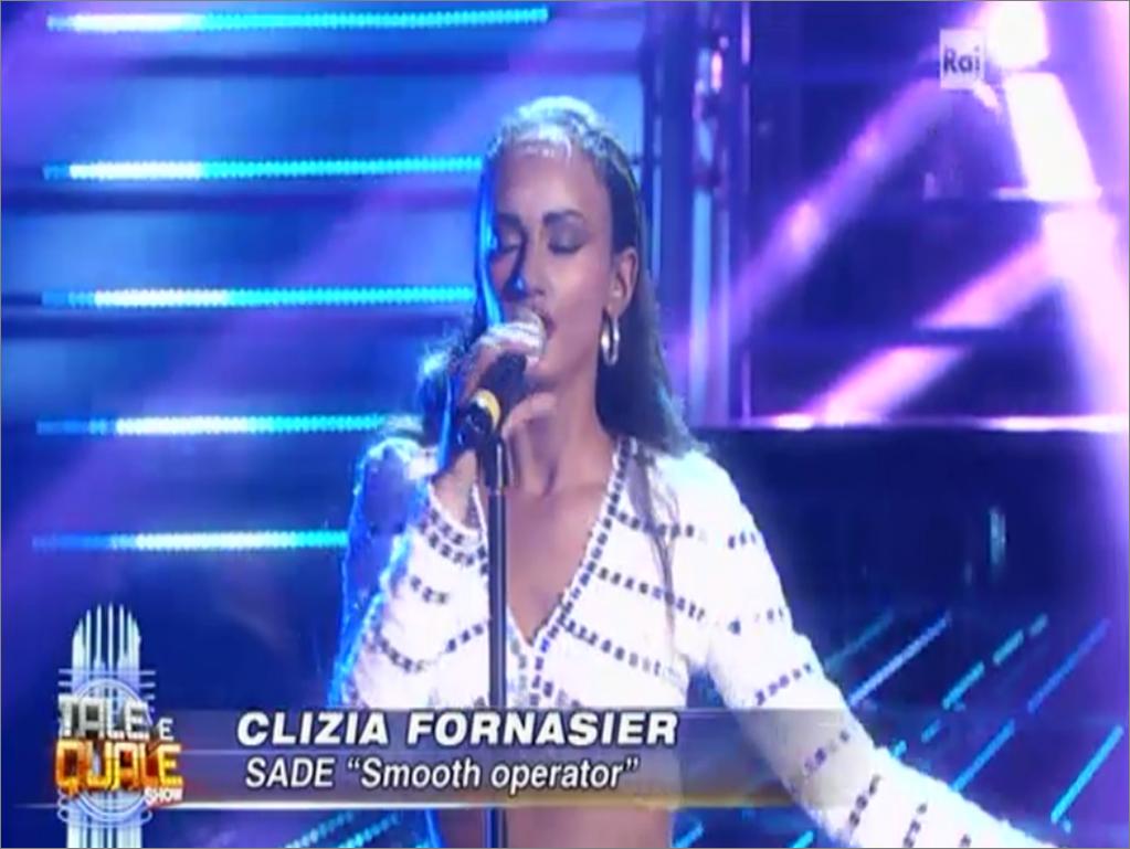 Clizia Fornasier tale e quale a Sade