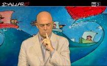 Crozza a Ballarò (03/12/2013): In Parlamento a riposare tra un Ballarò e laltro? [VIDEO]