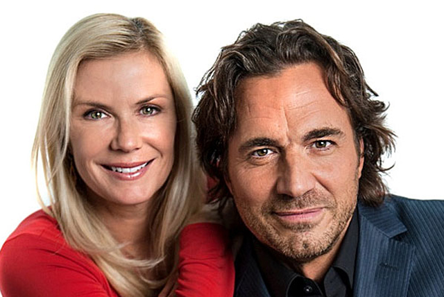 Katherine Kelly Lang e Thorsten Kaye di Beautiful