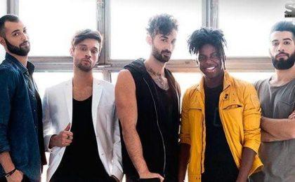 Sanremo 2016, i Dear Jack cantano la cover di Un bacio a mezzanotte dei Quartetto Cetra