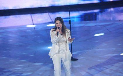 Sanremo 2016, Deborah Iurato ringrazia Maria De Filippi e Caterina Caselli