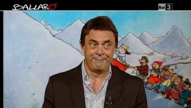 Crozza a Ballarò (07/01/2014): 'A Natale si sentiva la voce di Bublé o di Renzi' [VIDEO]