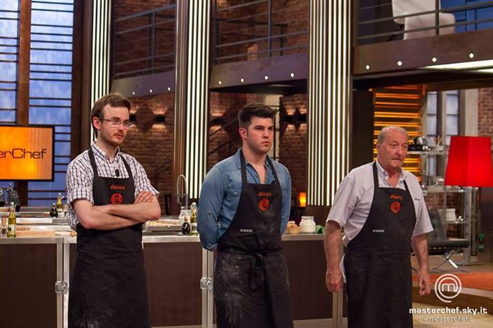 Daniele, Giorgio e Alberto