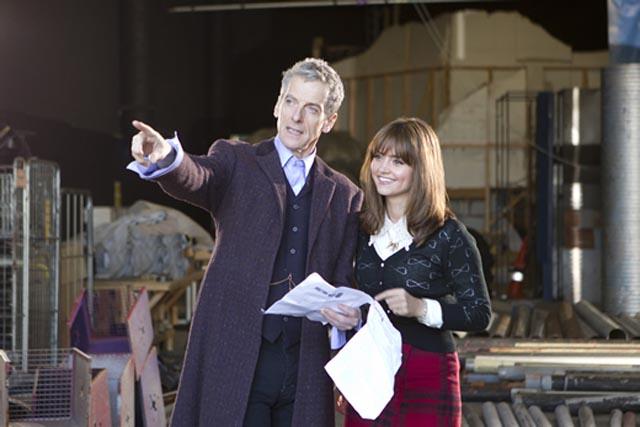 Doctor Who: Peter Capaldi sul set della nuova stagione
