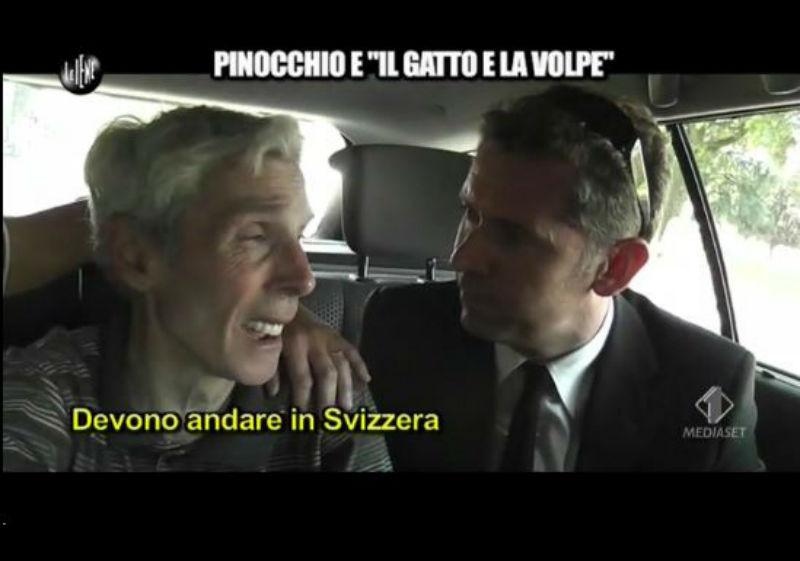 Le Iene 29_01_14 Mario Svizzera