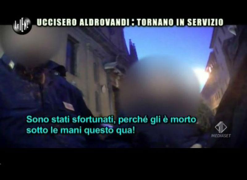 Le Iene 29_01_14 Poliziotti 03