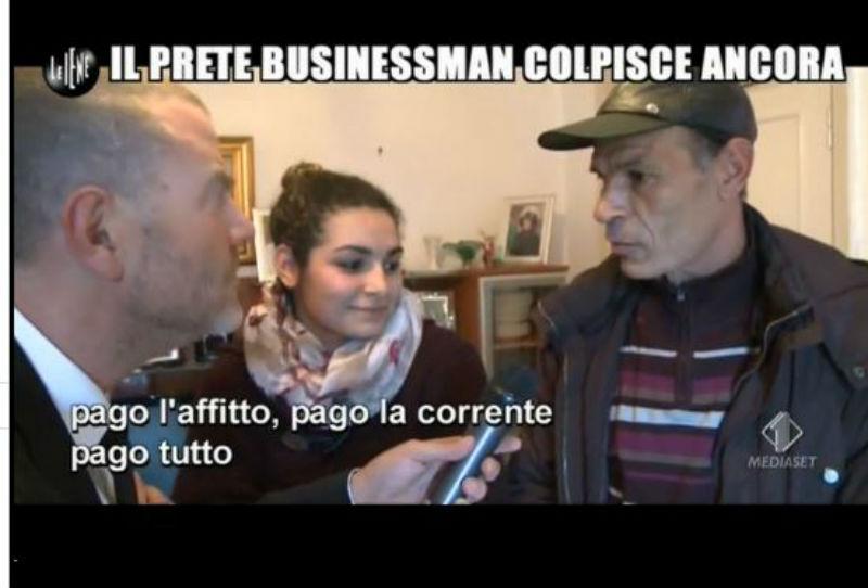 Le Iene 29_01_14 Prete Affitto