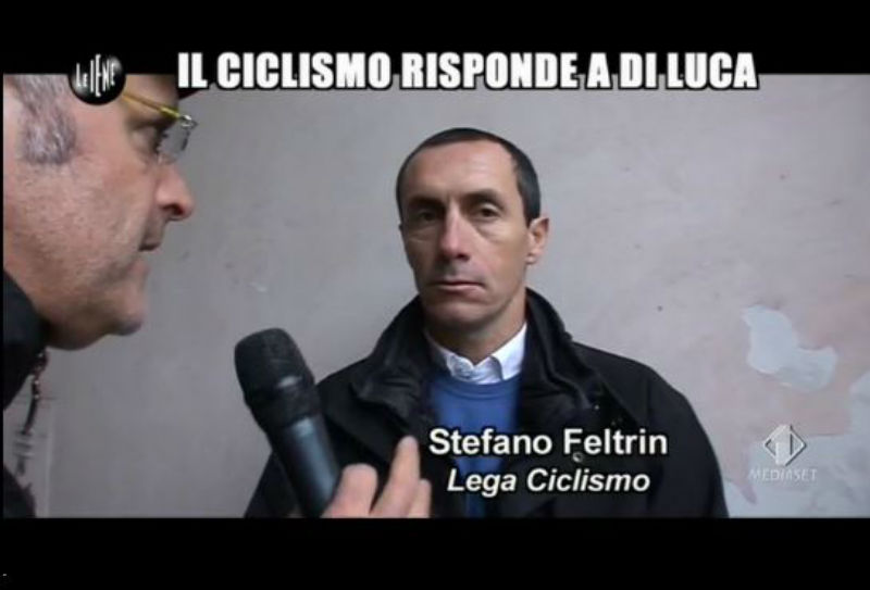 Le Iene 29_01_14 Stefano Feltrin