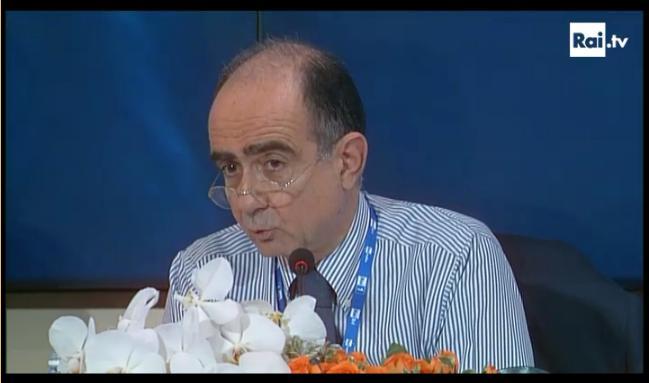 Conferenza stampa live terza serata_Leone