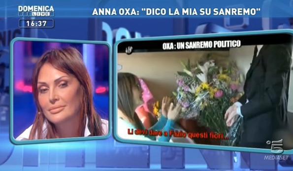 Domenica Live 09.02.2013 Oxa Sanremo Iene