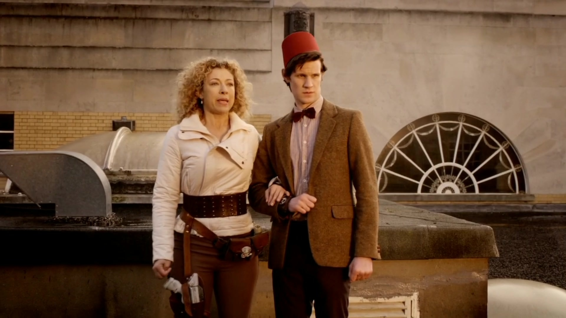 Doctor Who 8: Matt Smith ha supplicato Moffat di non far comparire River Song