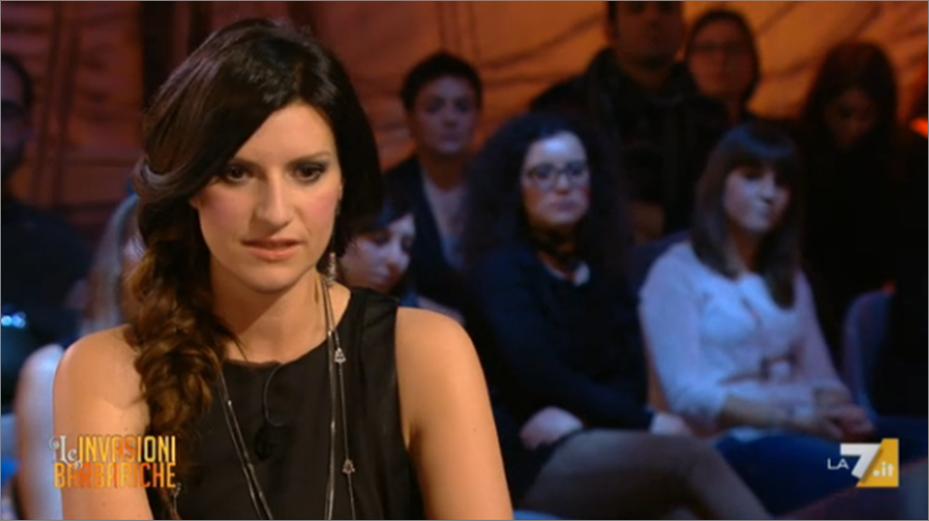 Laura Pausini parla di lavoro in Italia