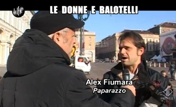 Le Iene 05.02.14 Balotelli Paparazzo