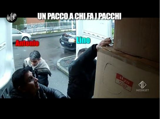 Le Iene 260214 Antonio e Lino