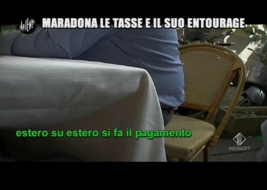 Le Iene 260214 Fisco Maradona estero su estero