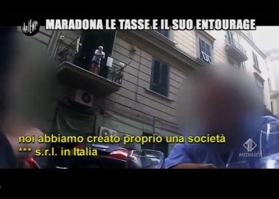Le Iene 260214 Fisco Maradona società