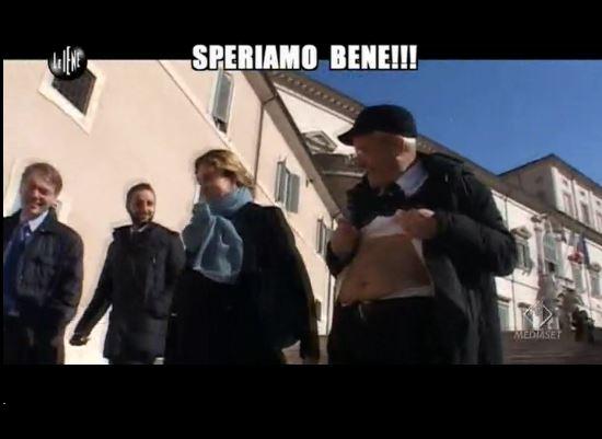 Le Iene 260214 Governo Renzi 03