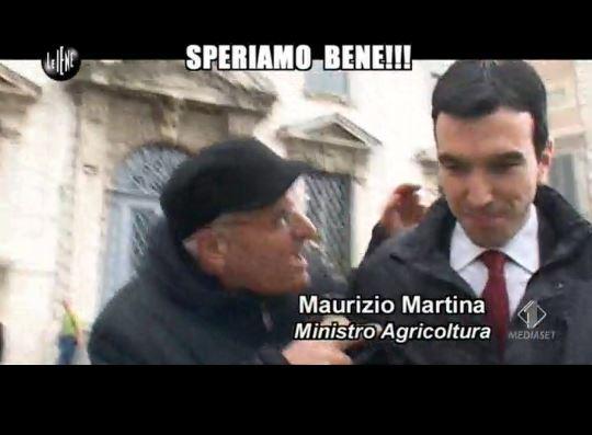 Le Iene 260214 Governo Renzi Martina