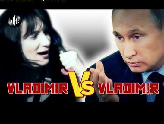 Le Iene 260214 Iene Luxuria Putin