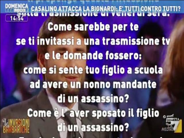 Lettera Rocco Casalino, Le INvasioni