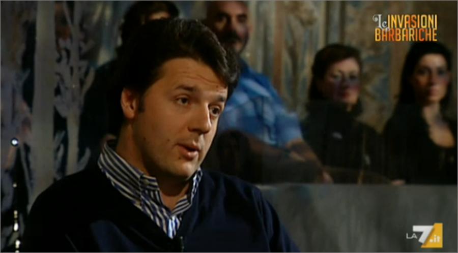 Matteo Renzi alle Invasioni nel 2008