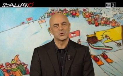 Maurizio Crozza a Ballarò (11/02/2014): 'Ma siamo elettori o sommelier?' [VIDEO]