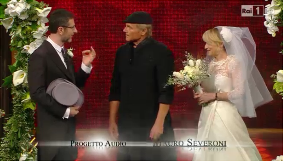 Terence Hill sposa Luciana Littizzetto E Fazio Fazio