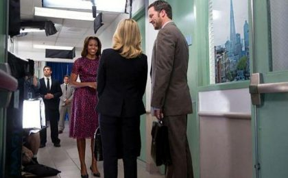 Serie TV: Michelle Obama in Parks & Recreation 6, Bill De Blasio in The Good Wife 5