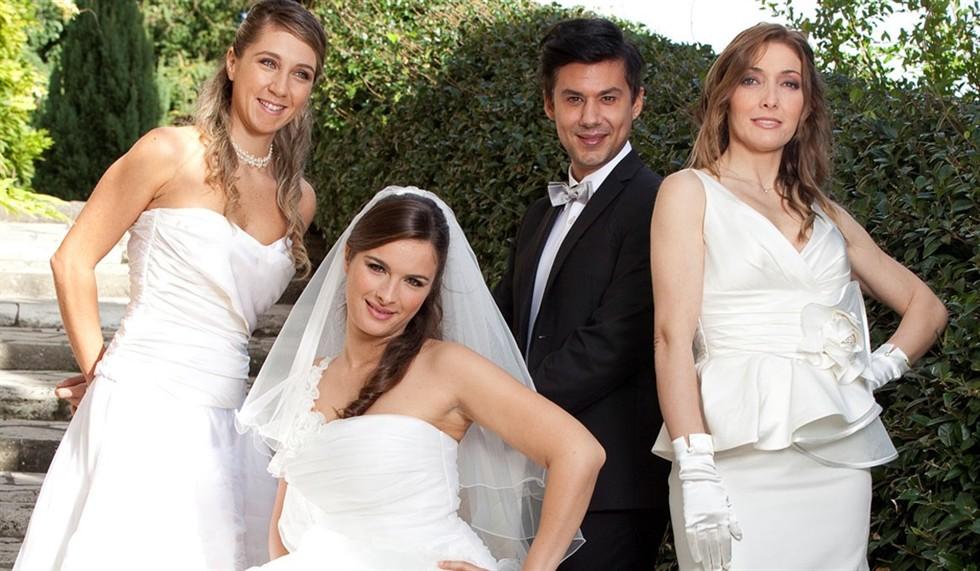 Quattro matrimoni Italia, competizione spietata nel giorno del si!