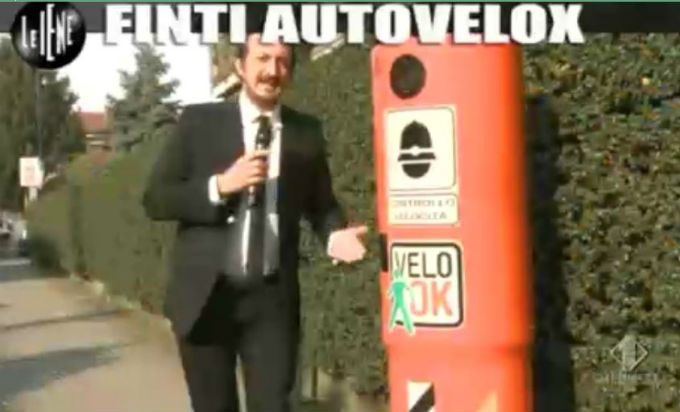 Le Iene 12032014 Finti autovelox