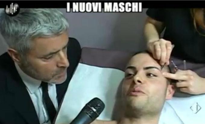 Le Iene 12032014 Lucci Maschi 3