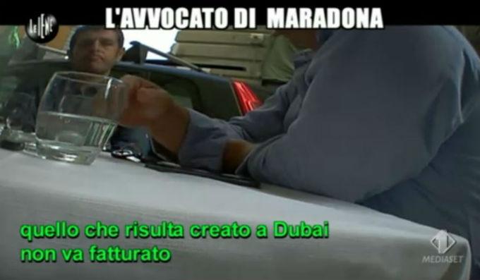 Le Iene 12032014 Maradona Fatturato