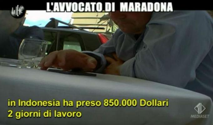 Le Iene 12032014 Maradona Indonesia