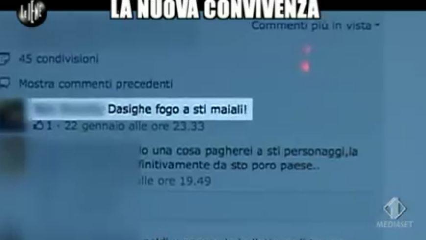 Le Iene 12032014 Vicenza nomadi 2