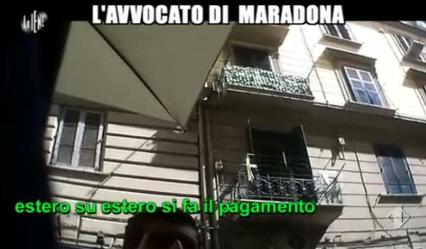Le Iene 12032014 avvocato Maradona 02