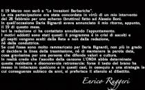 Le Invasioni Barbariche, Enrico Ruggeri contro Daria Bignardi: La mia ospitata cancellata