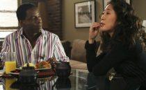 Greys Anatomy 10: Preston Burke torna per laddio a Cristina Yang (alias Sandra Oh)
