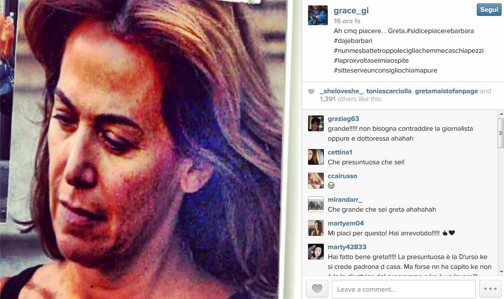 Instagram Greta Maisto