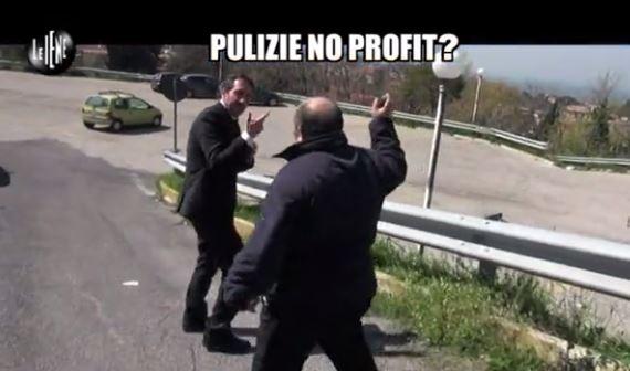 Le Iene 3042014 Pulizie no profit