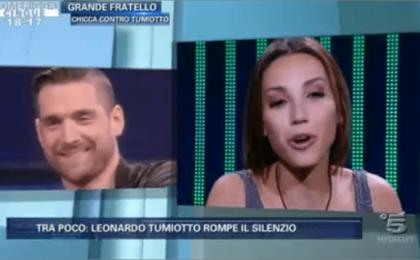 Leonardo Tumiotto al Grande Fratello 13: l'ex di Chicca ha fatto il provino