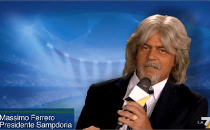 Crozza nel paese delle meraviglie 2015, prima puntata 27 febbraio: parodia di Enrico Mentana
