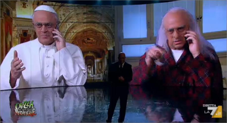 Papa Francesco telefona Marco Pannella